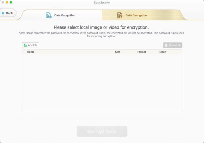 dossier crypte iphone avec macx mediatrans