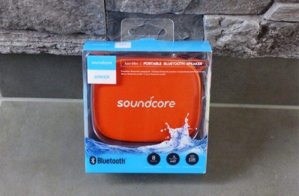emballage enceinte anker soundcore icon mini