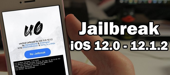 jailbreak unc0ver ios 12 iphone xs