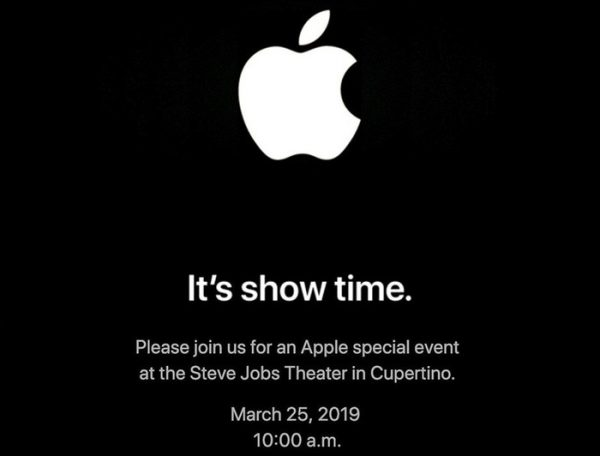 keynote apple 25 mars 2019