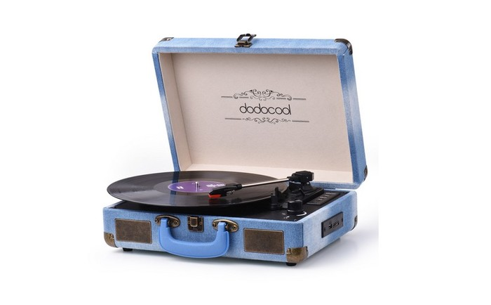 platine vinyle bluetooth dodocool da187