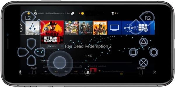 ps4 remote play iphone
