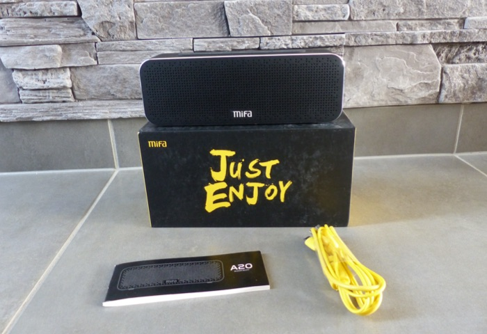 test enceinte bluetooth mifa soundbox