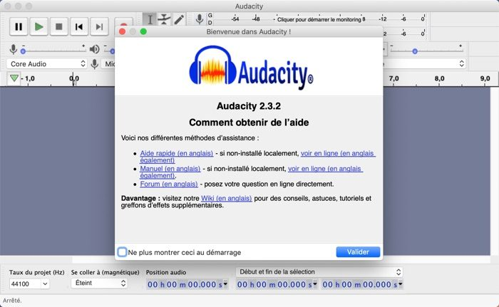 AUDACITY ENCODER POUR TÉLÉCHARGER MP3 LAME
