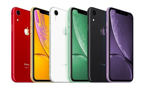 coloris iPhone XI R