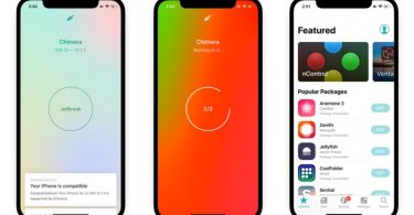 guide jailbreak ios 12 chimera
