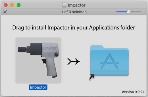 installer cydia impactor sur mac