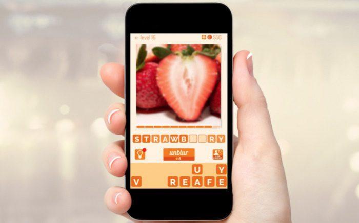unblur app jeu ios et android