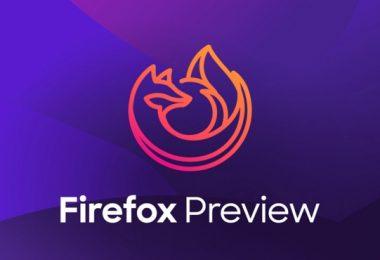 navigateur web firefox preview pour android