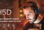 test casque bluetooth xsound h5d anc