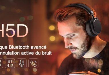 test casque bluetooth xsound h5d anc