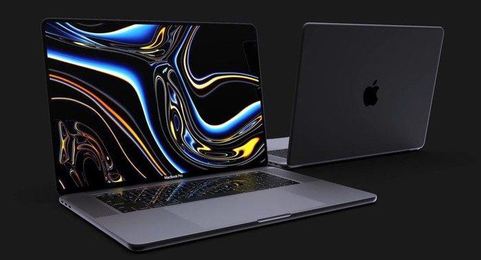 concept macbook pro 16 pouces 2019