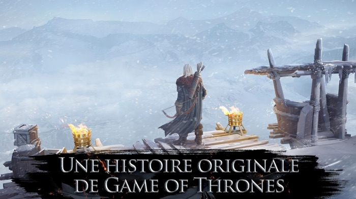 jeu game of thrones au-dela du mur ios et android