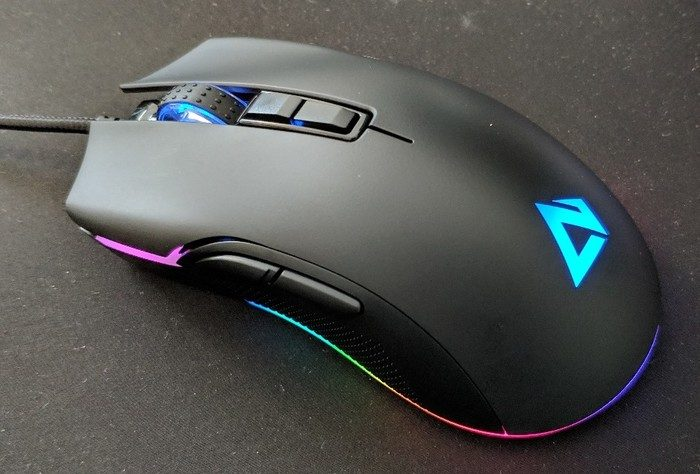 test souris gaming aukey gm-f1