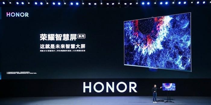 honor vision televiseur connecte sous harmonyos