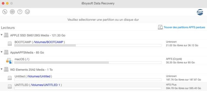 recuperation de donnees mac iboysoft data recovery