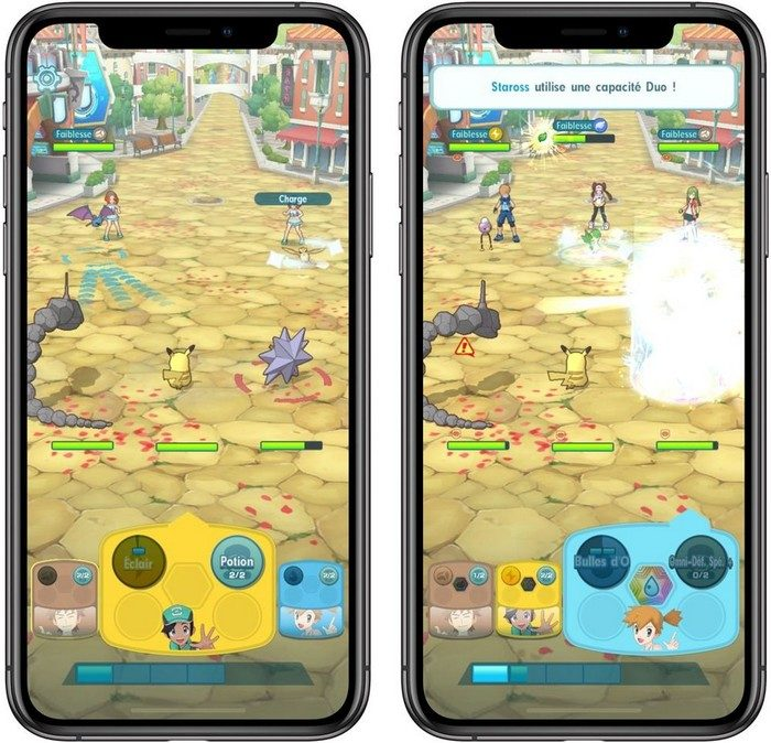 telecharger pokemon masters pour ios et android