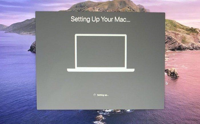 Blocage Mac Sur Ecran Configuration Macos Catalina
