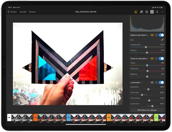 Pixelmator Photo Sur Ipad Pro