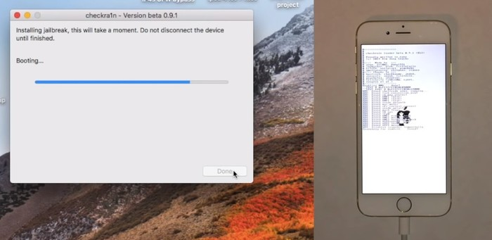 Bypass Icloud Checkra1n