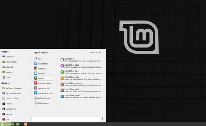 Linux Mint 189.3 Tricia Bureau Mate