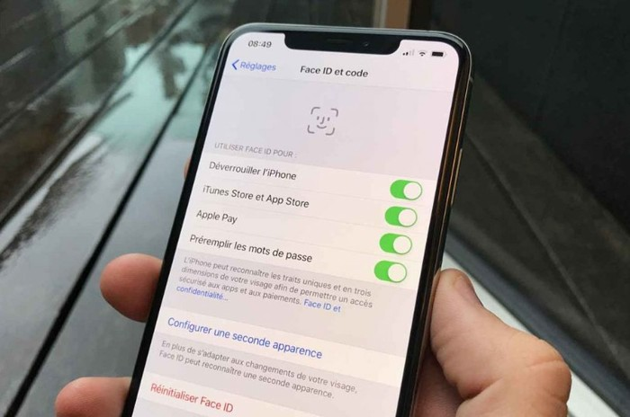 Configurer Une Autre Visage Face Id Iphone X