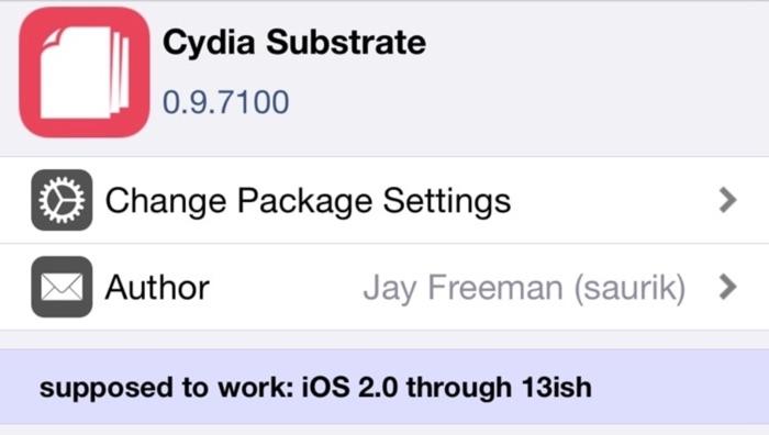 Cydia Substrate Compatible Jailbreak Ios 13