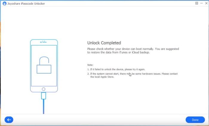 Debloquer Iphone Joyoshare Ipasscode Unlocker