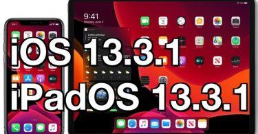 Mise A Jour Ios 13.3.1 Et Ipados 13.3.1