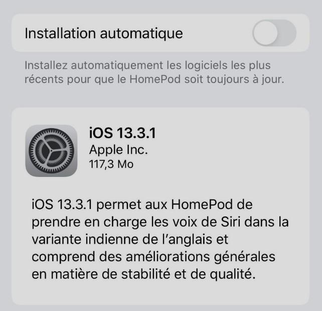 Mise A Jour Iphone Ios 13.3.1