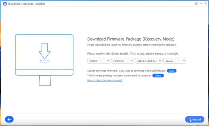 Telecharger Firmware Joyoshare Ipasscode Unlocker