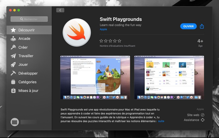 Apprendre A Coder Avec Swift Playgrounds