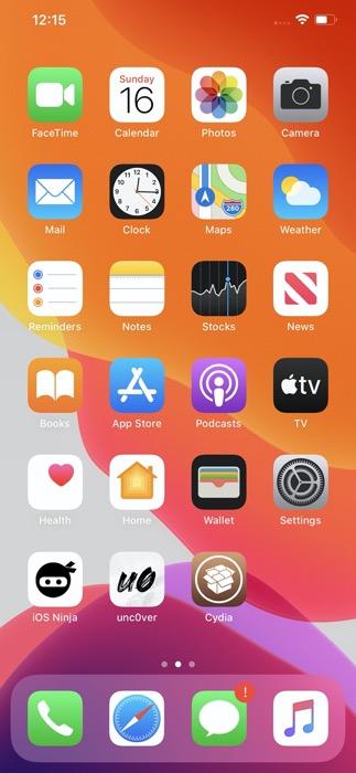 Installer Cydia Jailbreak Unc0ver Iphone 11