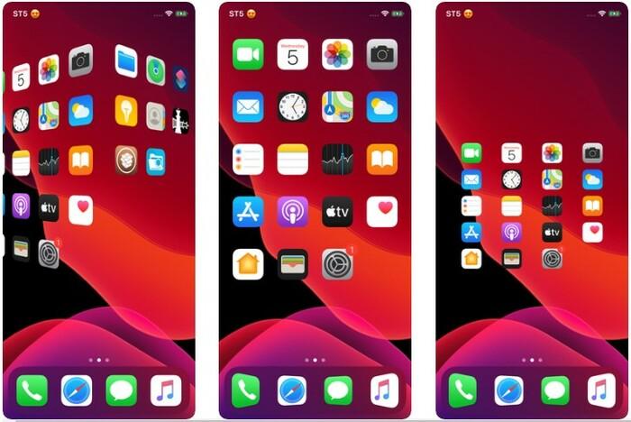 Springtomize 5 Modifier Springboard Iphone