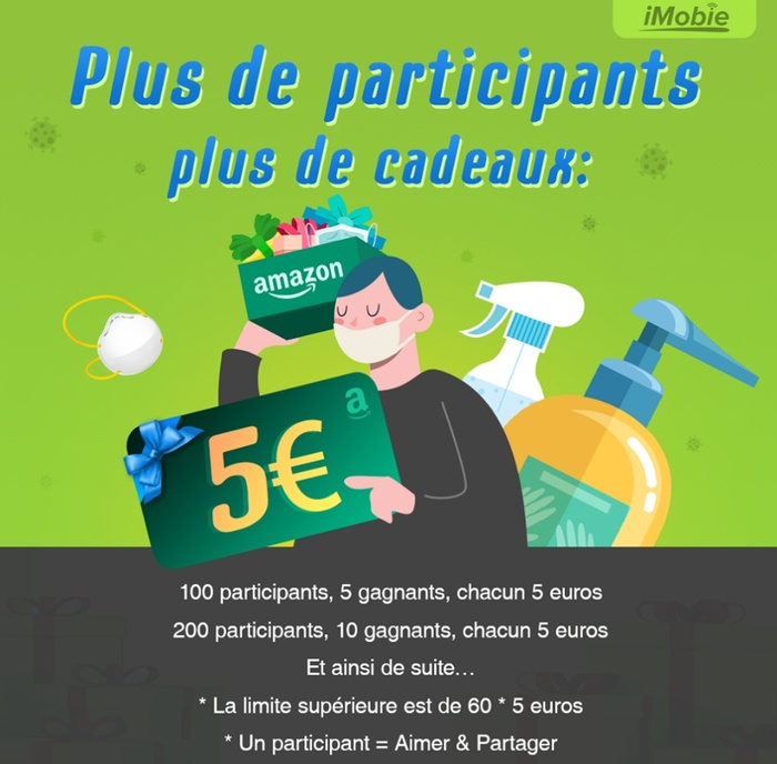 Concours Imobie Gagner Cheque Cadeau Amazon