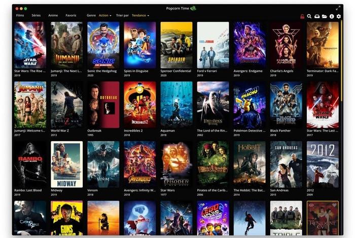 Popcorn Time Streaming Netflix Gratuit