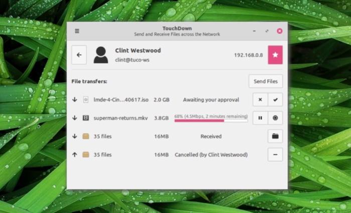Warpinator Transfert De Fichiers Linux Mint