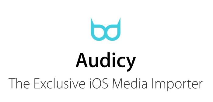 Audicy Importateur De Medias Pour Iphone Et Ipad