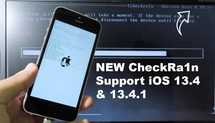 Checkra1n Jailbreak Ios 13.4.1 Ipados 13.4.1
