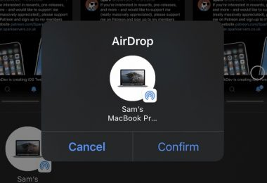 Tweak Airdropconfirm Jailbreak Ios 13