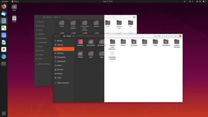 Ubuntu 20.04 Theme Sombre