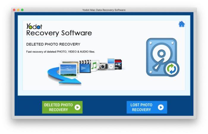Yodot Mac Data Recovery Recuperation Photos Perdues