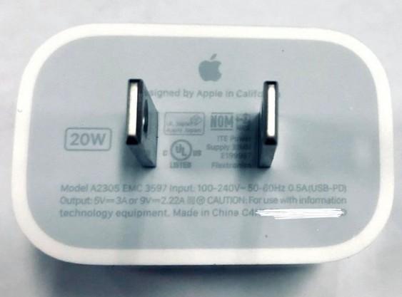 Chargeur 20 Watt Iphone 12