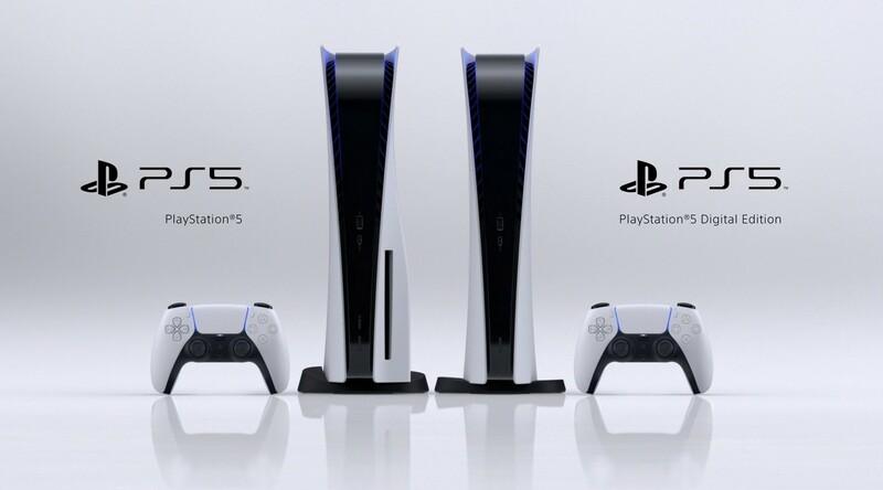 Console Ps5 Et Ps5 Digital Edition
