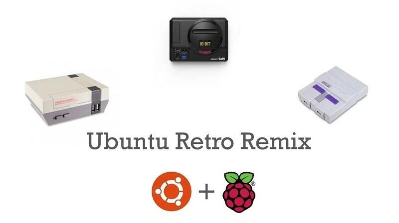 Console Retrogaming Ubuntu Retro Remix