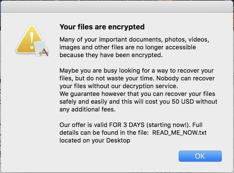Mise A Jour Xprotect Contre Ransomware Evilquest Thiefquest