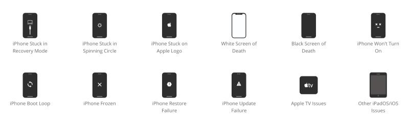 Reparer Erreur Iphone