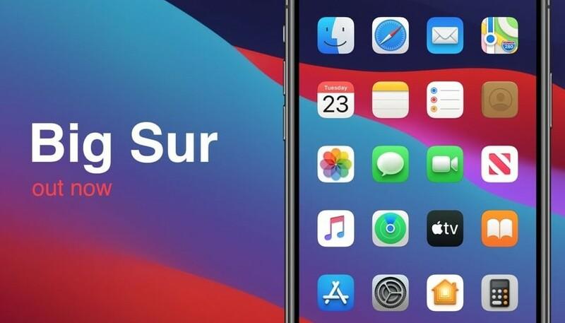 Theme Macos 11 Big Sur Sur Iphone Et Ipad
