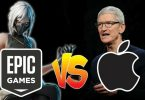 Apple Menace Epic Games