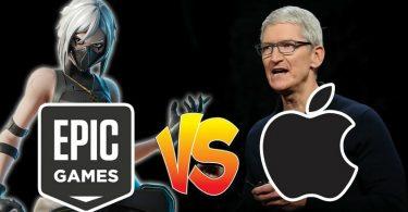 Apple Menace Epic Games